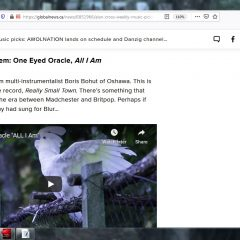 """Alan Cross picks One Eyed Oracle as """"Undiscovered Gem"""""""