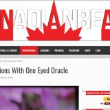 Canadian Beats asks One Eyed Oracle 5 questions