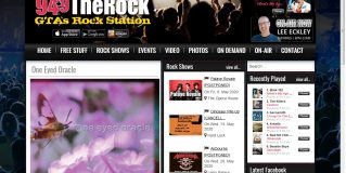 """Generation Next"" feature One Eyed Oracle on The Rock 94.9 The GTA's Rock Station"