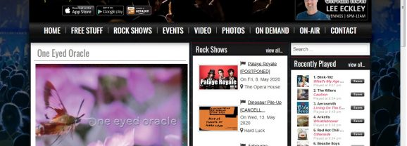"""""""Generation Next"""" feature One Eyed Oracle on The Rock 94.9 The GTA's Rock Station"""